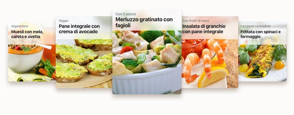 Esempi di ricette per un piano nutrizionale Muscle Up Nutrition Plan