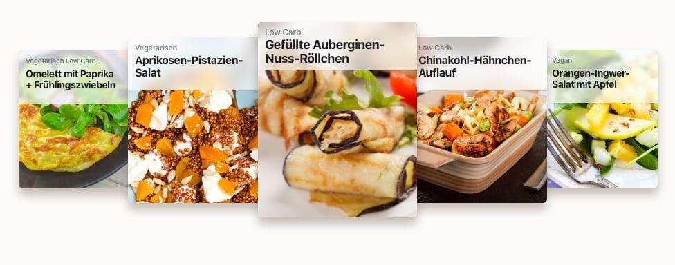 Rezeptbeispiele für einen Clean Eating Ernährungsplan